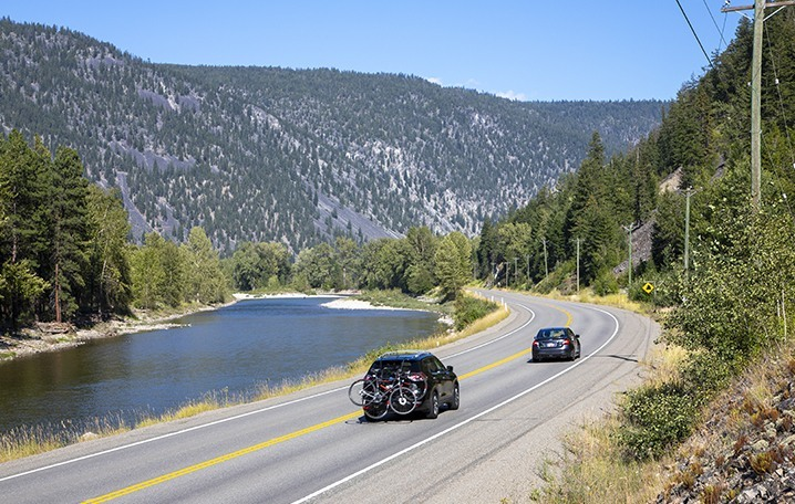 Driving 388, Hwy 3, near Princeton, Similkameen, summer, activities, Darren Robinson