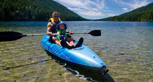 Kayaking 25, Jewel Lake Provincial Park, near Greenwood, Boundary, summer, activities, Darren Robinson